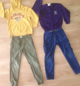 Одежда пакетом на мальчика 7- 8 лет
