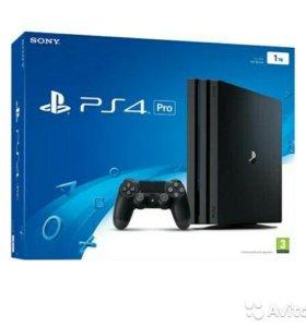 PlayStation 4 pro + игры