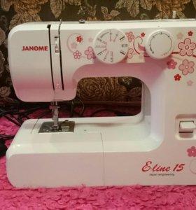 Швейная машинка Janome E-line 15