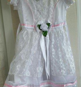 Платья детское нарядное новое