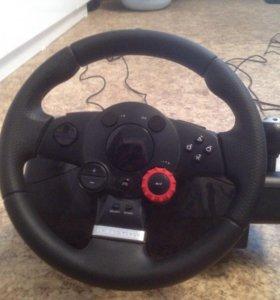 Игровой руль от Logitech Driving Force GT