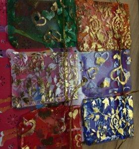 Мешочки подарочные под украшения 🌸
