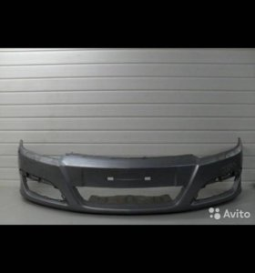 Бампер передний Opel astra