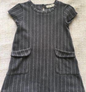 Платье Zara на девочку 7 лет