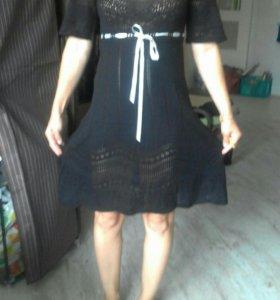 Легкое ажурное платье