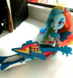 Кукла Радуги Дэш. My little pony- EG.