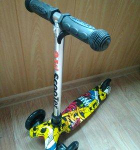 Скутер Мини с принтом
