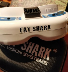 Fat Shark Dominator v3 с приемником