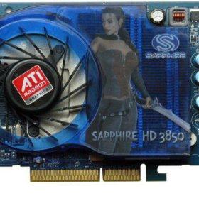 Видеокарта HD 3850