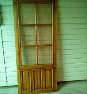 Простые двери.