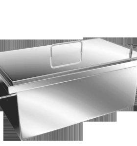 Коптильня с гидрозатвором 400x200x200