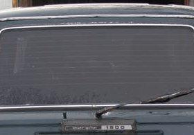 Заднее стекло для автомобилей ВАЗ-2102, 04.