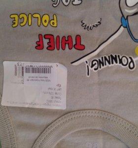 Новый комплект нижнего белья для мальчика