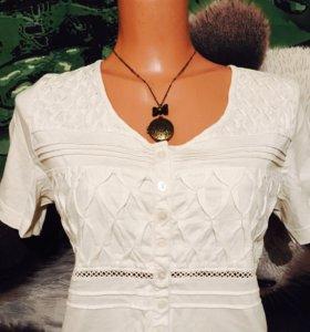 Блузка с кружевом 💝