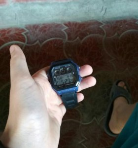 Часы касио водонепроницаемый