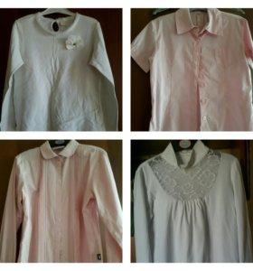 Школьные блузки 146-152