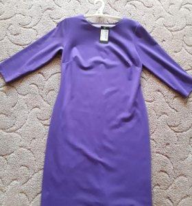 Платье трикотаж,раз 48