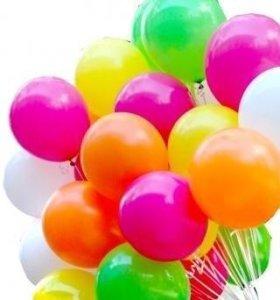 Гелиевые шары, оформление праздников