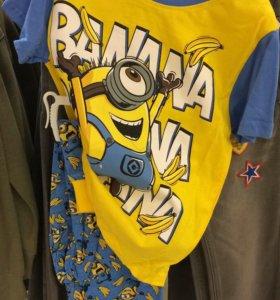 Новая футболка Миньоны