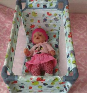 Кукла Beby born и его аксессуары