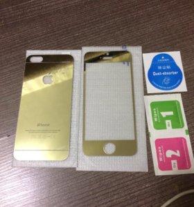 Стекло на iPhone 5s