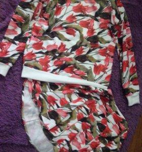 Костюм. Кофта+юбка.