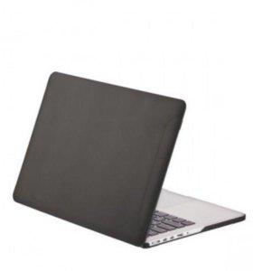 Чехол для MacBook Pro 13 Retina матовый черный