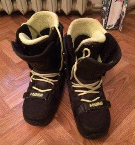 Ботинки для сноуборда K2 Darko 27.0 (42-43р) б/у