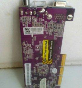 Видеокарта AGP 64m