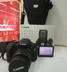 Canon 600d с объективом EF S 18-55 Is II