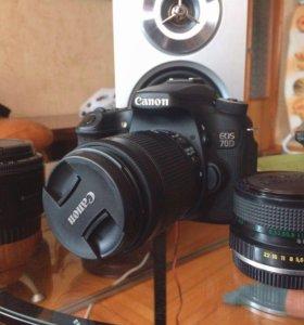 Canon 70D + 18-55 IS II STM + 50mm f/1.8 + Zenitar