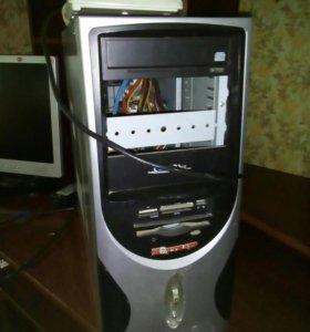 Монитор и процессор