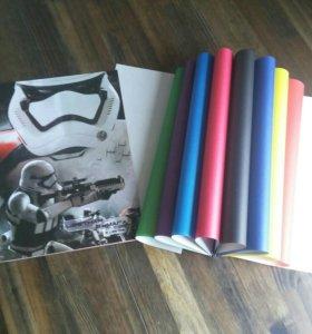 Бумага цветная Звездные войны