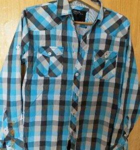 Рубашка фирменная L