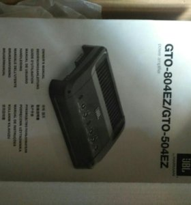 Продам усилитель 4-х канальный jbl gto-804ez