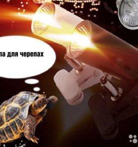 Лампа для черепах плюс светильник с регулировкой