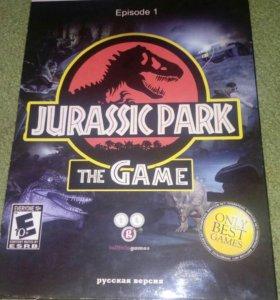 Диск с игрой на пк Jurassic Park