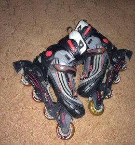 Роликовые коньки Larsen Fitness (раздвижные)