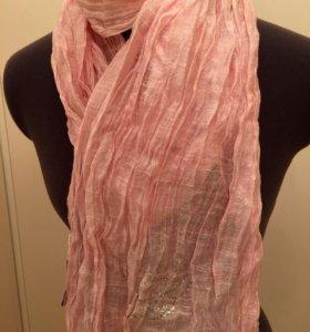 Розовый шарф Miss Blumarine (New)