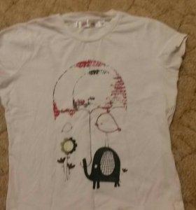 Комплект футболка + шорты для девочки