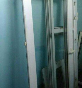 Окна пластиковые б/у. 130x145