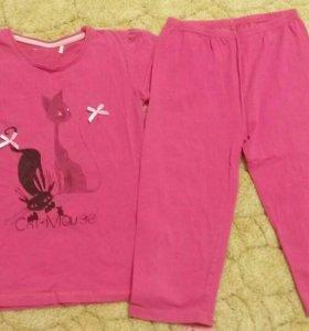 Комплект бриджи+футболка для девочки