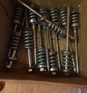 Пружинные узлы 10 х 200 мм