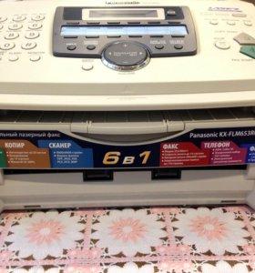 МФУ Panasonic KX-FLM653RU