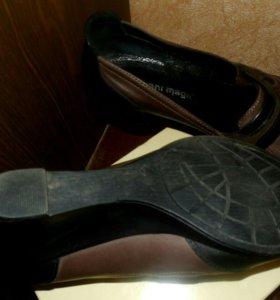 Кожаные туфли 👠