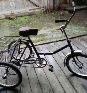 Велосипед трехкалесный для взрослых