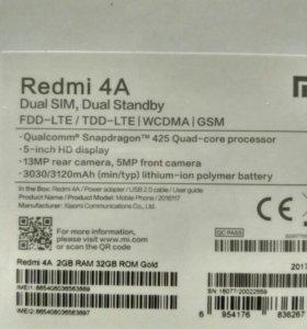 Xiaomi redmi 4 a 2/32 gold