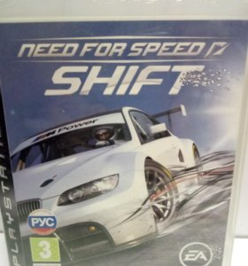 Игра Need for Speed (shift) (PS3)