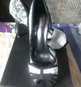 Туфли raffaello mantini новые
