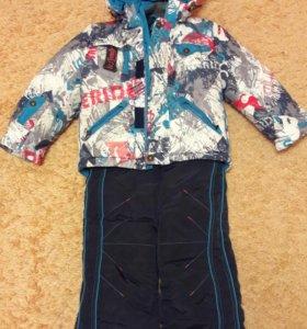 Зимний костюм ice Tomos 104-110+ подарок шапка